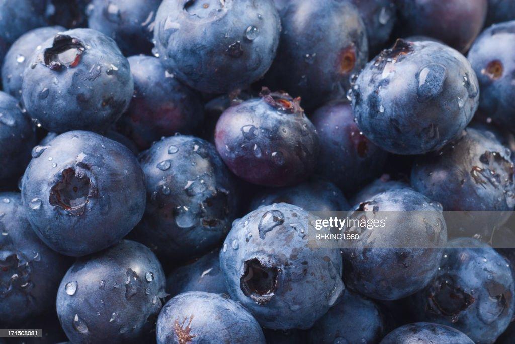 Fresh Blueberries! : Stock Photo