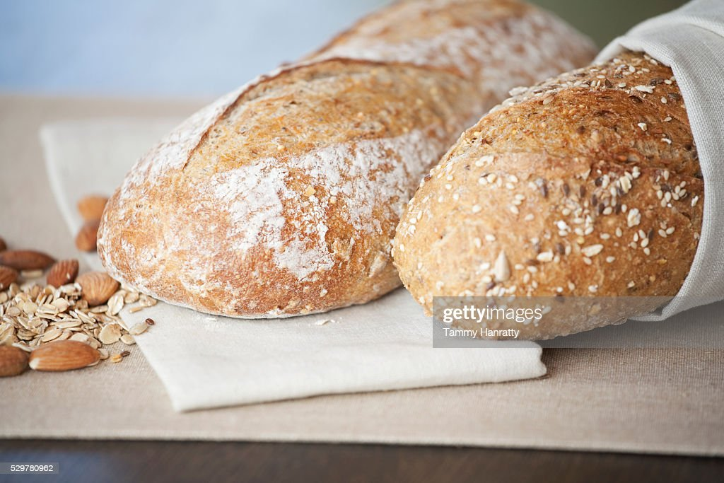 Fresh bread : Stock Photo