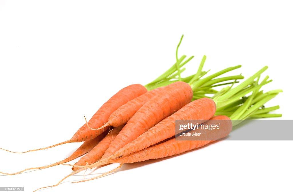 fresh carrots : Stock Photo