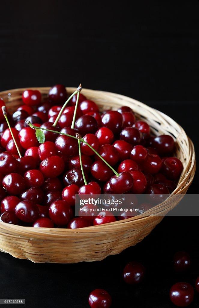 Fresh Cherries : Stock Photo