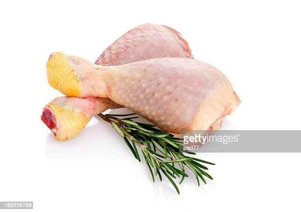 Fresh Chicken Legs (Clipping Path)