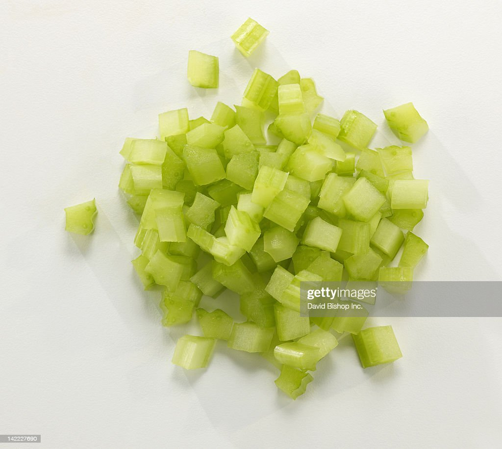 Fresh Chopped Celery