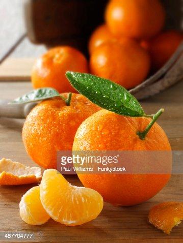 Fresh clementines