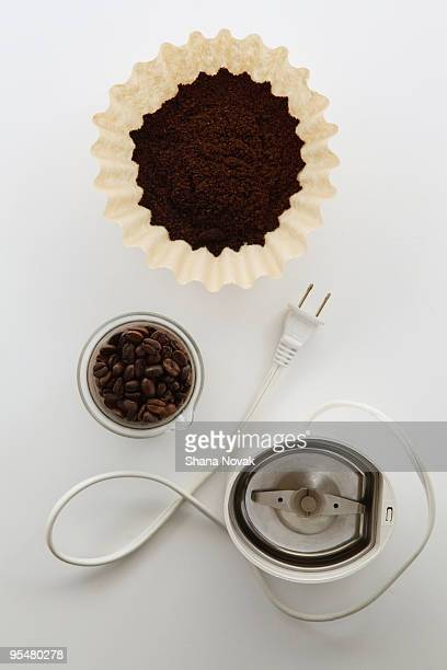 Fresh Coffee Beans Ready for Grinding