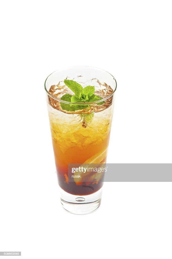 fresh cold tea : Stock Photo