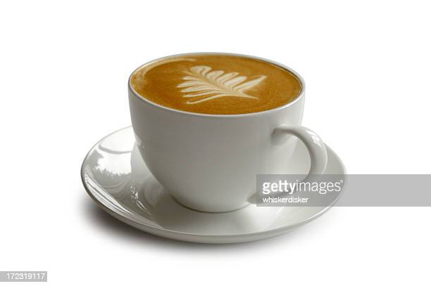 Tasse Kaffee mit clipping path