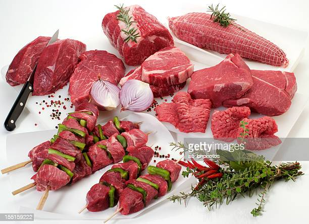 Fresh cuts of meat