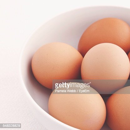 Fresh Eggs In Bowl