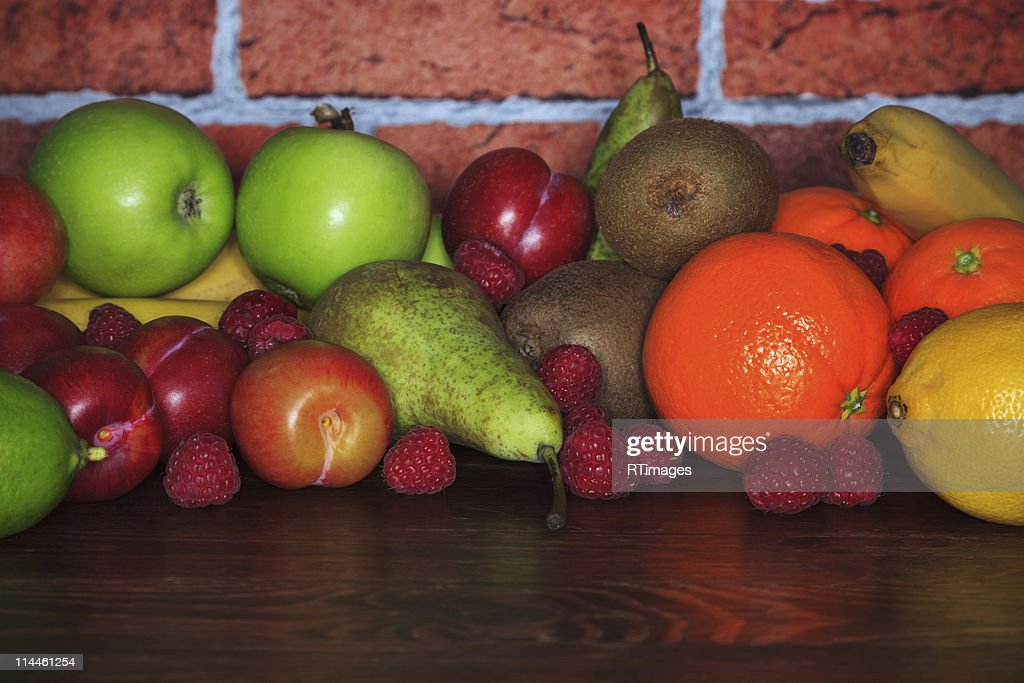 Fresh fruit : Stock Photo