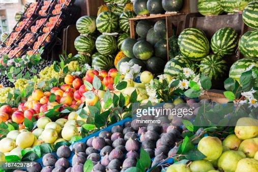 Frutas frescas : Foto de stock
