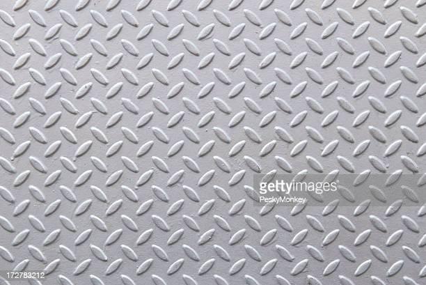 Fresh Gray Diamond Steel Tread Background