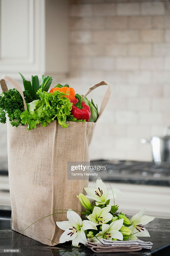 Fresh groceries : Stock-Foto