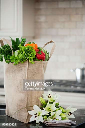 Fresh groceries : Foto stock