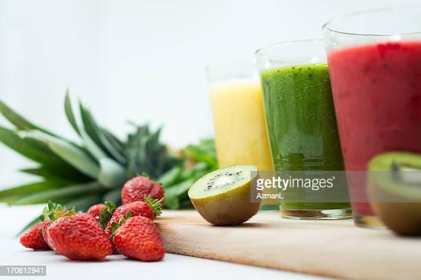 Fresh, healthy smoothies