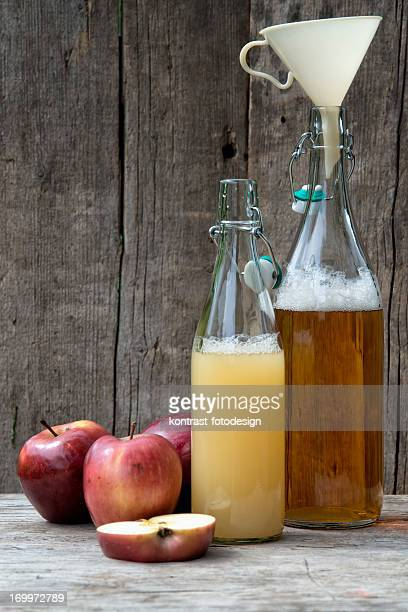 Fresh homemade apple juice Apfelsaft