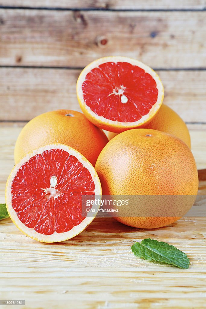 Fresh juicy grapefruit : Stock Photo