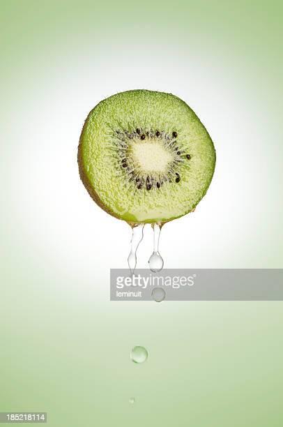 Frischen kiwi Frucht