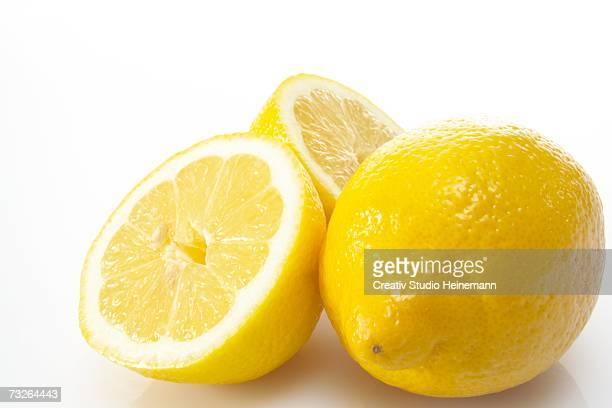Fresh lemons, close-up