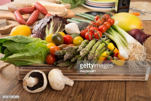 Fresh Mediterranean vegetables