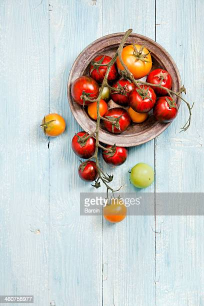 Frische gemischte Tomaten