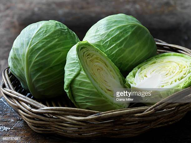 Fresh organic vegetables, baby cabbage