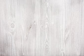 Texture of fresh painted wooden surface. White wooden table