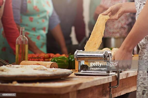Des pâtes fraîches sont les meilleurs plats de pâtes