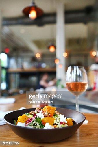 A Fresh Pumpkin Salad