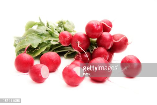 Fresh radish : Stock Photo