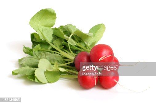 Fresh radishes : Stock Photo