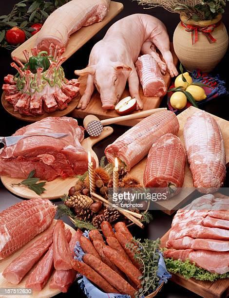 Fresh Raw Pork Meat