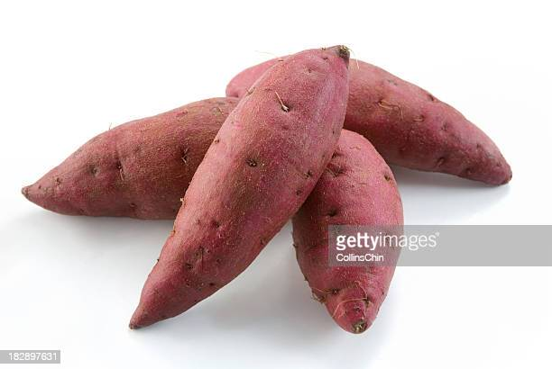 Fresh Red Sweet Potatoes