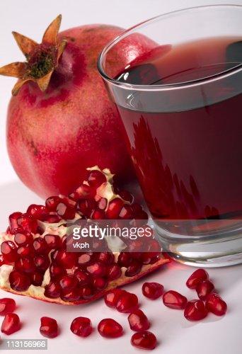 fresh ripe pomegranate : Stock Photo