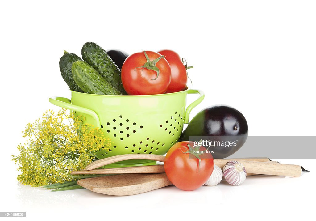 Fresh ripe vegetables : Stock Photo