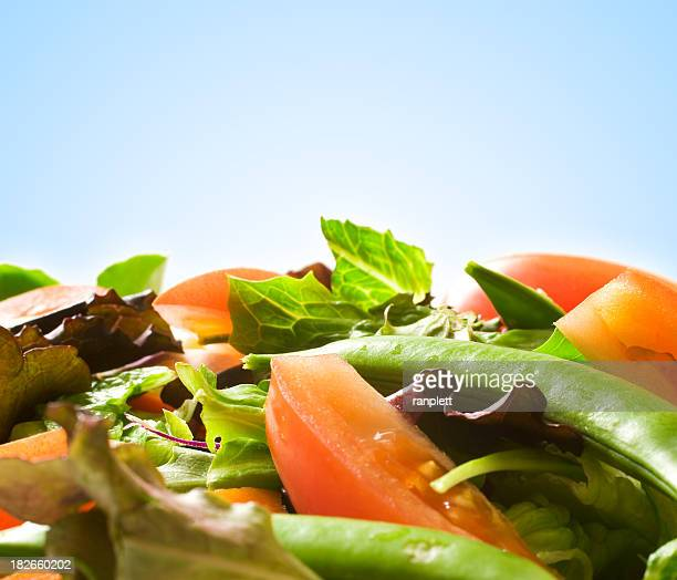 Fresh Salad (blue background)