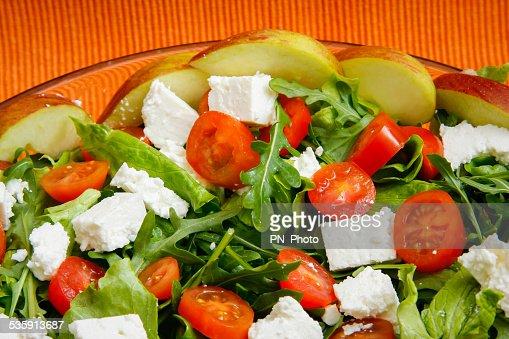 Ensalada fresca : Foto de stock