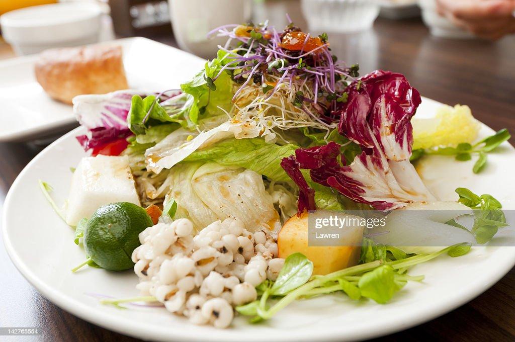 Fresh salads : Stock Photo