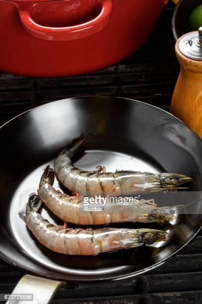 Des crevettes