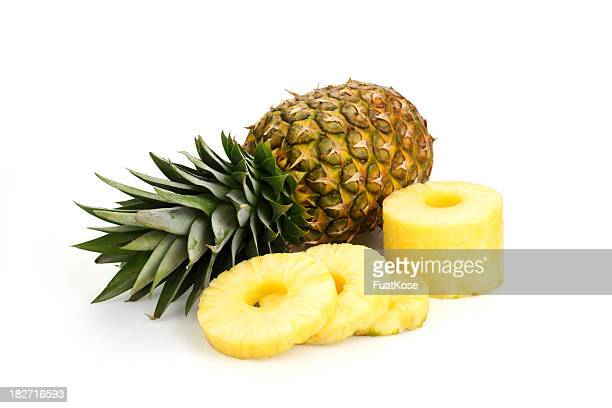 Fetta di ananas fresco