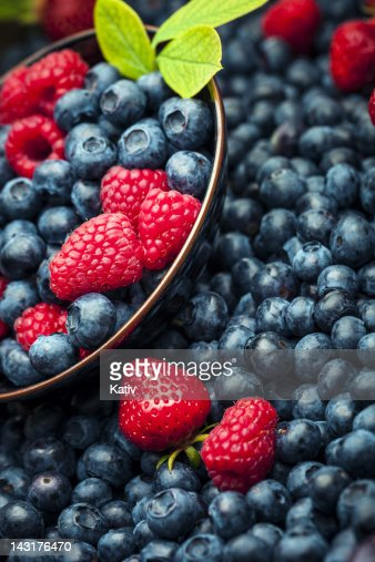 Fresh Summer Berries : Stock Photo