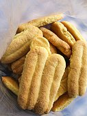 Fresh traditional Greek cookies