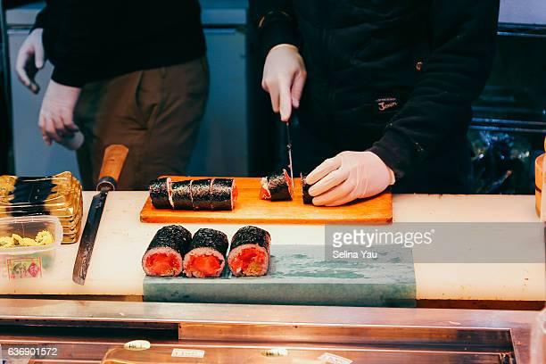 Fresh Tuna Futomaki Sushi Roll