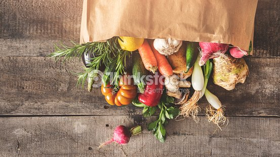 Fresh vegetables healthy food concept : Foto stock