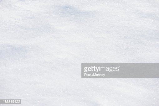 Fresh White Powder Snow Full Frame Background