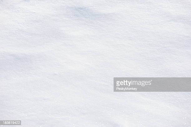 Fresh White Powder Snow Full Frame Background