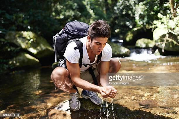 リフレッシュに長いのハイキング