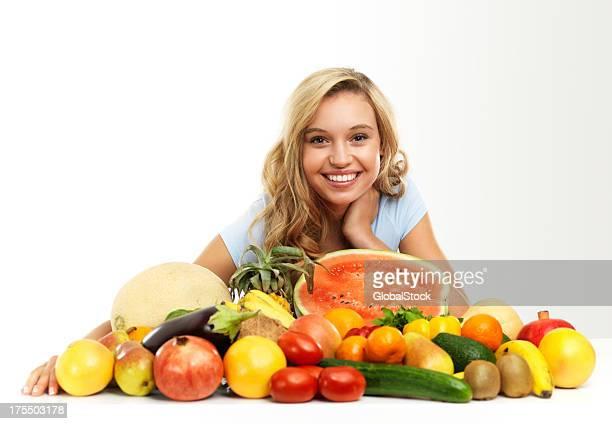 Schönheit frische und köstliche frische Naturprodukte!