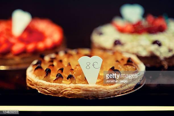 Freshly baked tarte tatin