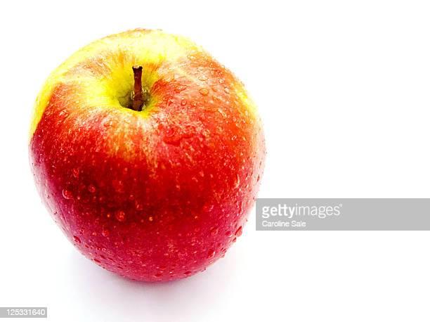 Freshly washed apple