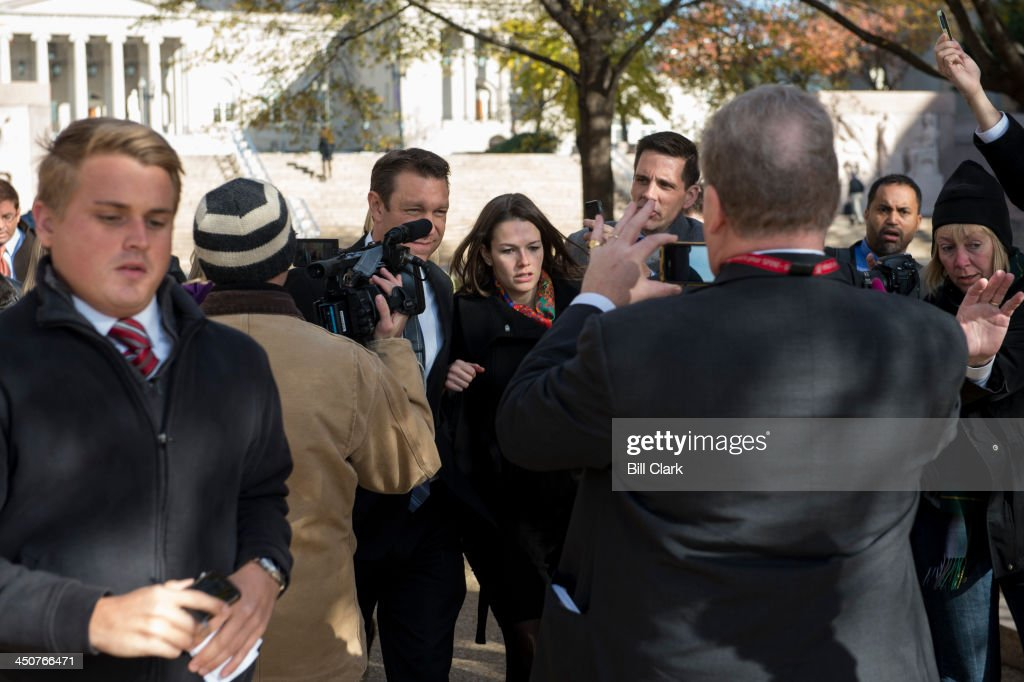 Freshman Rep. Trey Radel, R-Fla., leaves the H. Carl Moultrie Courthouse after pleading guilty in D.C. Superior Court to a misdemeanor charge of possession of cocaine on Wednesday, Nov. 20, 2013.